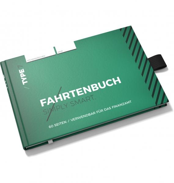Fahrtenbuch Hardcover DIN A6